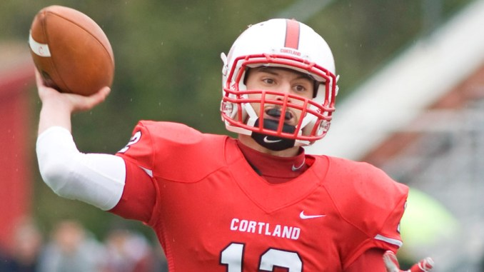 Senior quarterback Steven Ferreira returns to lead the SUNY Cortland football team into Saturday's season opener at Heidelberg after throwing for 3,127 yards and 29 touchdowns for the 9-3 Red Dragons last year.