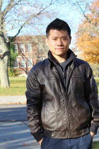 Photo provided by SUNY Cortland Lei Chen, a student at SUNY Cortland, has taken a long and circuitous route that led from China to his senior year at the college.