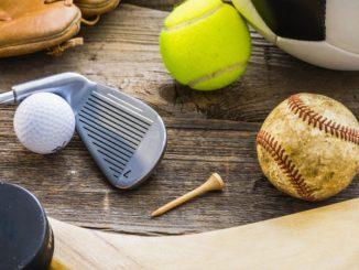 Various sports balls/equipment stock