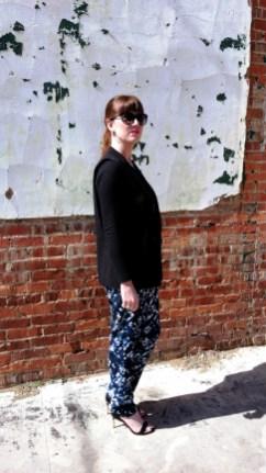 Blazer/Vest: Mossimo Shirt: Champion Pants: Mossimo Shoes: BCBG Watch: Kate Spade Sunglasses: Colehaan Earrings/Necklace: Bealles Purse: Nine West