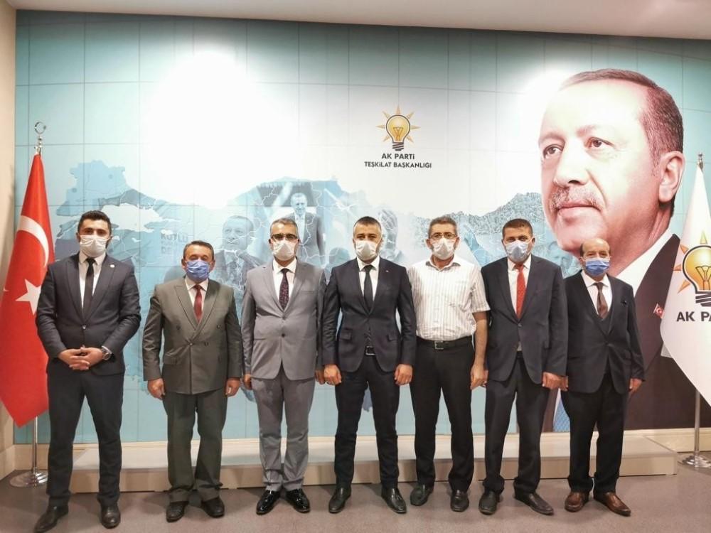 AK Parti Genel Merkezi İskilip ve Osmancık İlçe Başkanlarını belirledi