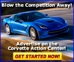Learn more about advertising with the Corvette Action Center