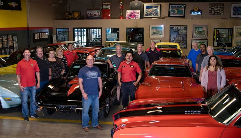 The Corvette Mike Team