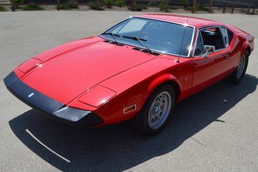 1974 Red De Tomaso Pantera