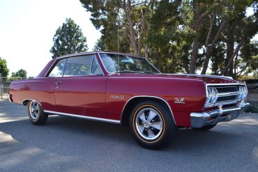 1965 Red Chevelle Z16 Coupe