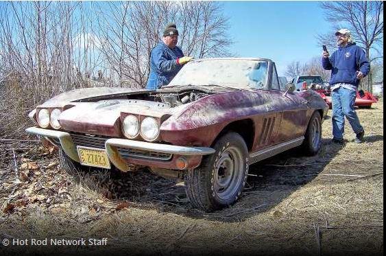 1966 427 big block Corvette
