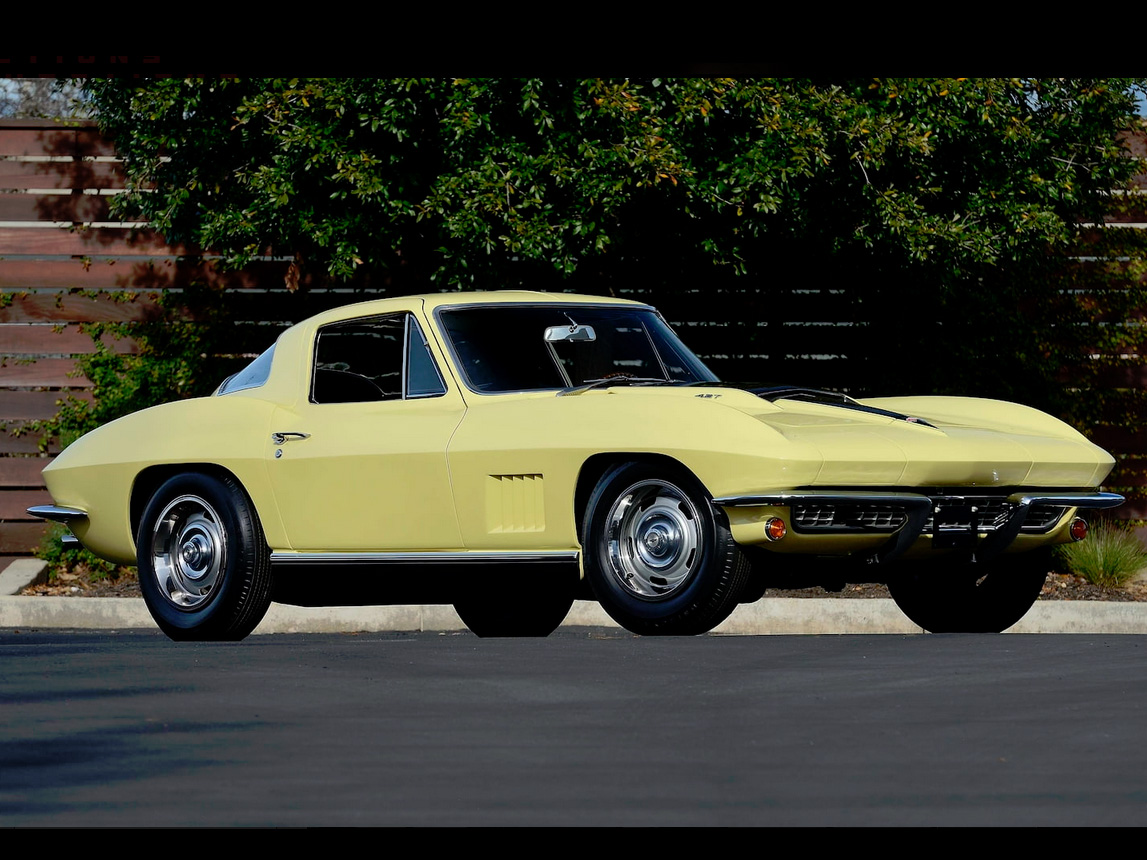 1967 yellow corvette l88 13