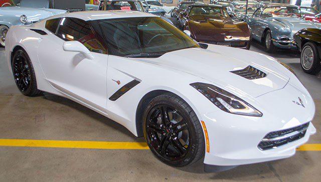 2017 White C7 Corvette-1