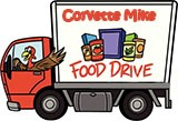 Corvette Mike Food Drive