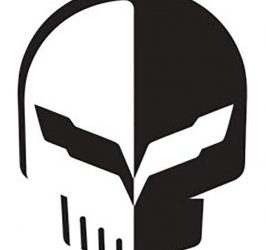 Jake Skull Corvette Logo 266x300