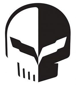 Jake Skull Corvette Logo