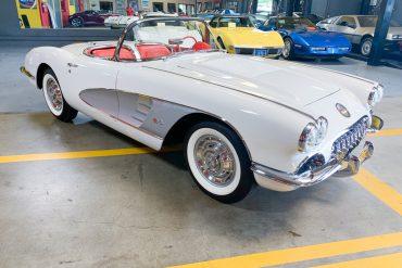 1958 corvette 6001