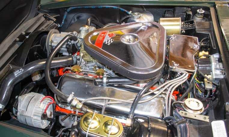 1969 green corvette l71 coupe 0203