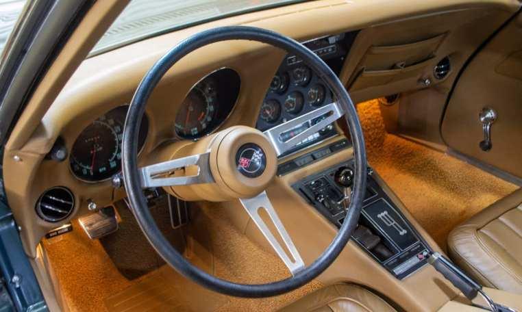 1969 green corvette l71 coupe 0231