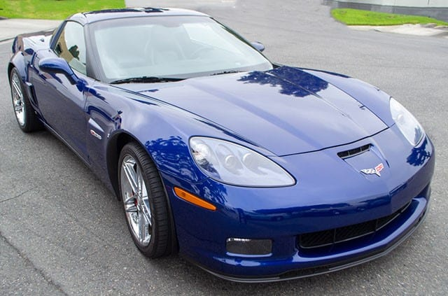 2006 Lemans Blue Corvette Zo6