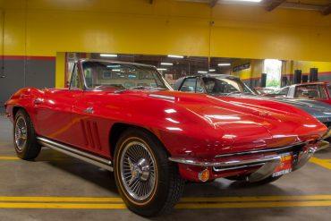 1965 red 396 425 corvette convertible 0093