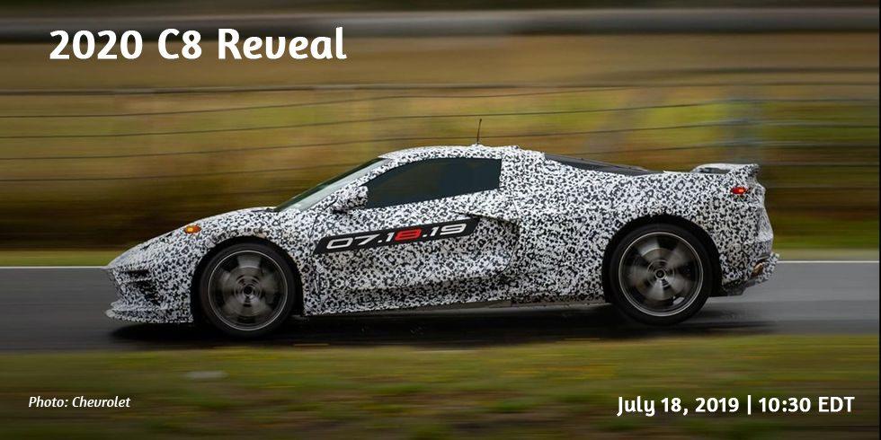 2020 C8 Corvette reveal