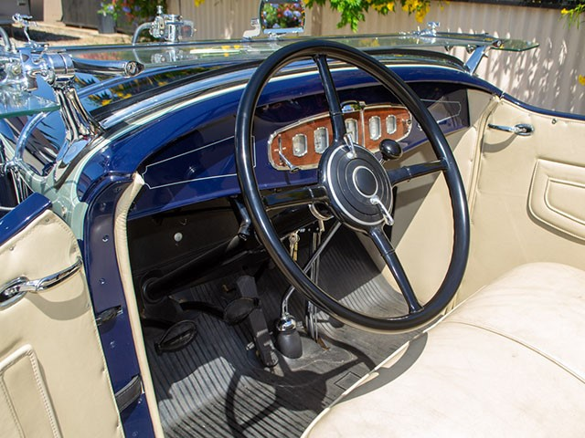 1931 Buick Roadster int