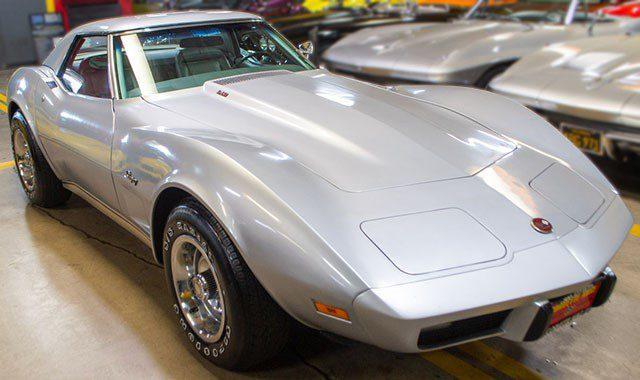 1975 L82 Silver Corvette