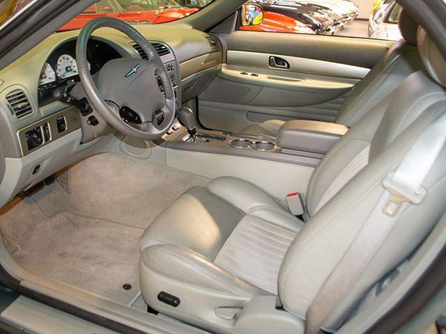 2004 green ford thunderbird pacific coast edition interior