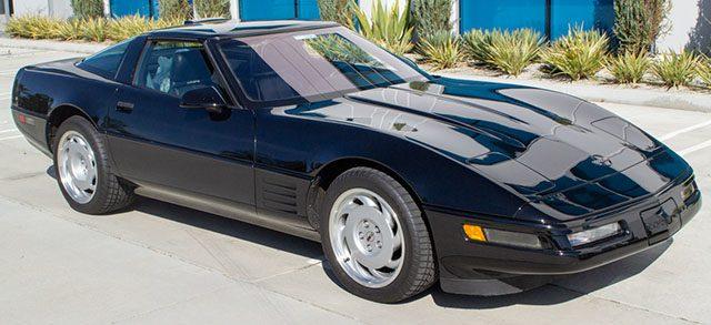 1991 black corvette zr 1 coming in