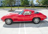 1967 rally red corvette l71 427 435 coupe 0675