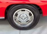 1967 rally red corvette l71 427 435 coupe 0682
