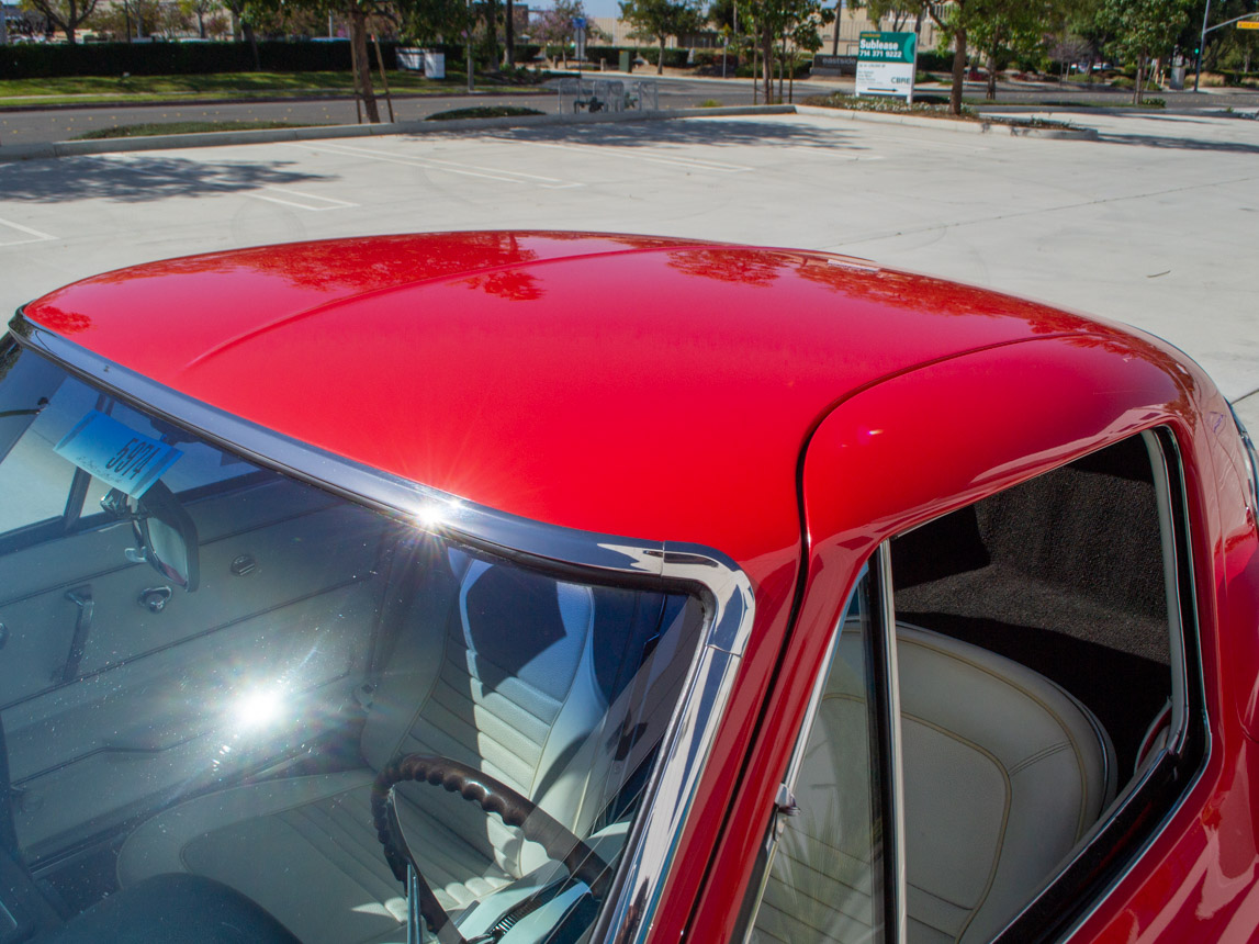 1967 rally red corvette l71 427 435 coupe 0687