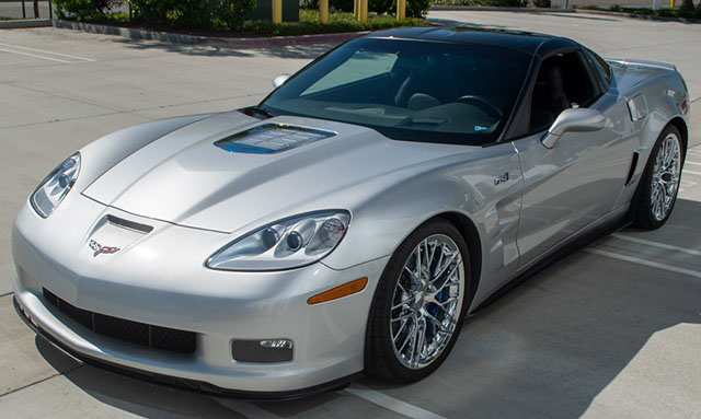 2011 silver corvette zr 1 coming