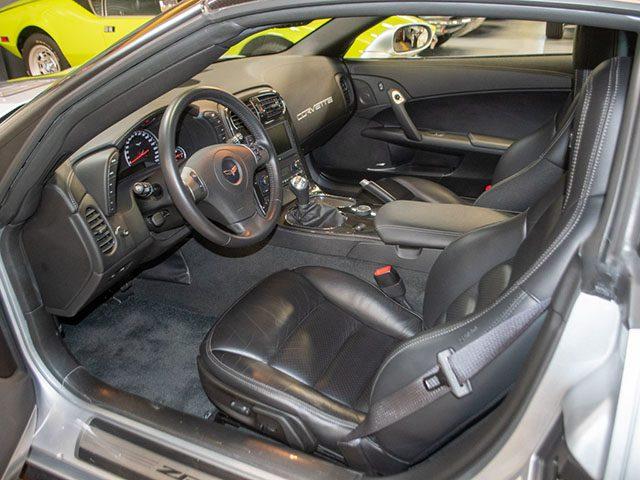 2011 silver corvette zr 1 interior