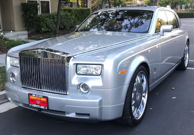 2007 Rolls Royce Phantom Sedan