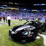 Eli Manning C6 Corvette 1
