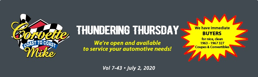 thundering thursday header july