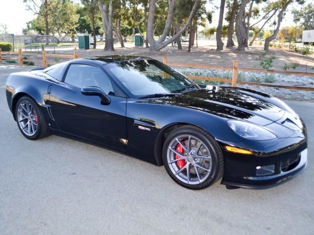 2009 Chevrolet Corvette ZO6 Coupe Black