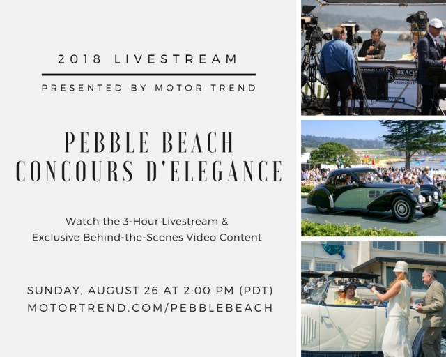 livestream pebble beach