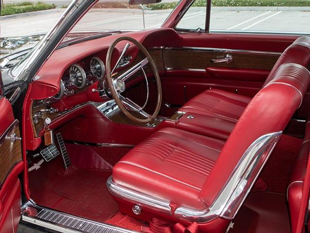 1963 Black Ford Thunderbird M Code Landau Hardtop Interior