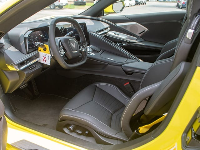 2020 c8 accelerate yellow corvette coupe interior 1 1