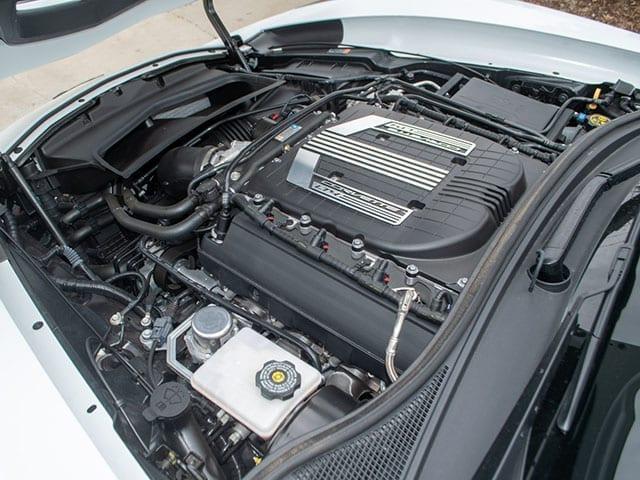2016 white z06 3lz z07 coupe motor 1