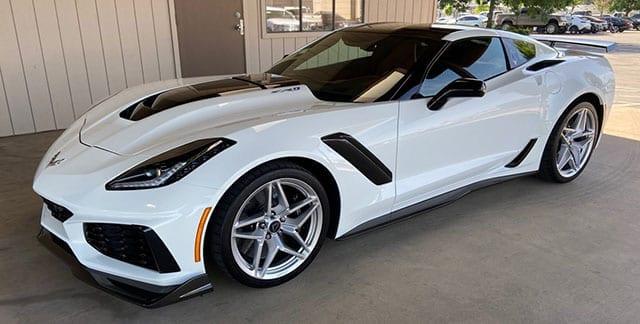 2019 corvette white zr 1 coming 2