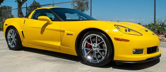 2009 yellow corvette z06 coming 1