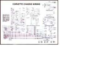 1981 Corvette Diagram, electrical wiring: CorvetteParts