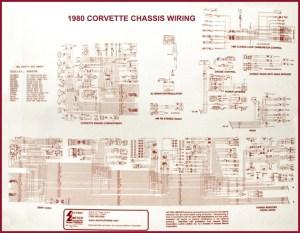 1980 Corvette Diagram, electrical wiring: CorvetteParts