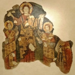 Fresco from the medieval oratory.