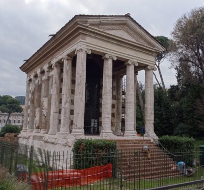 The temple of Portunus.