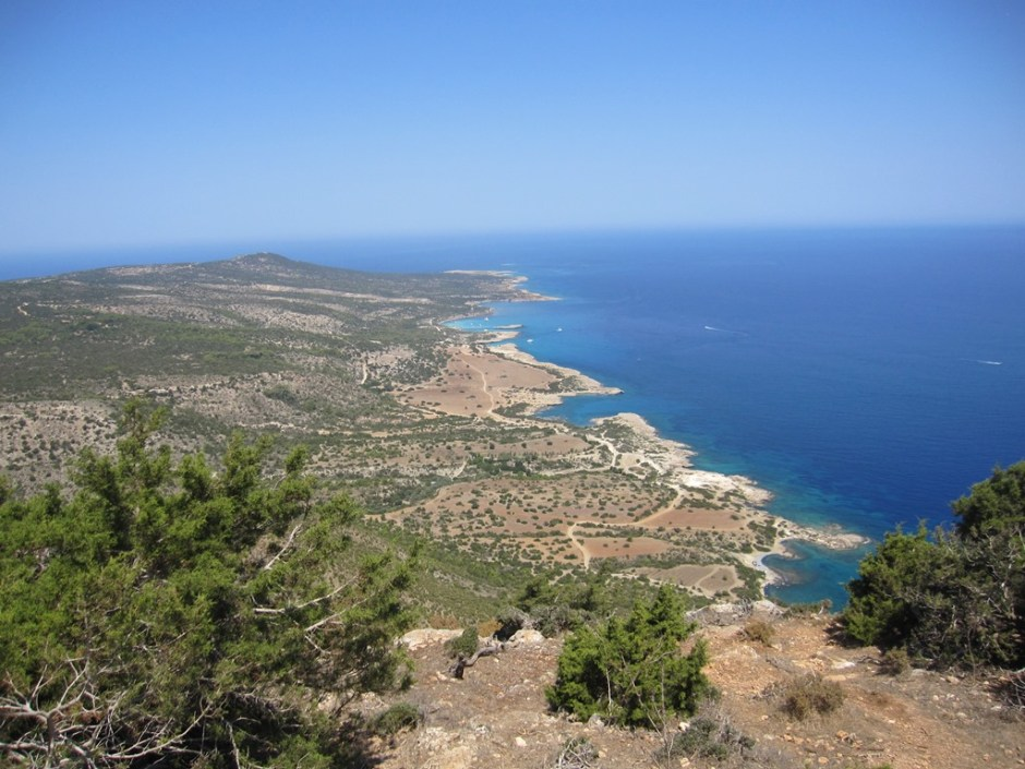 The Akamas peninsula.