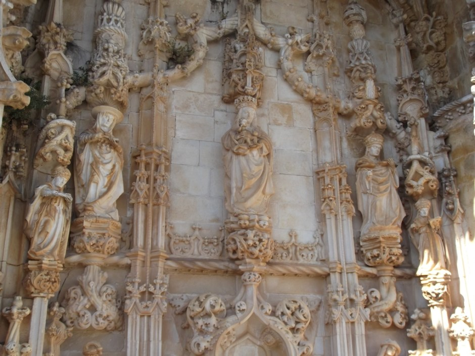 Decorations on the southern portal of the church.
