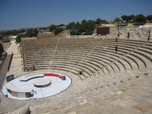 Kourion theatre.