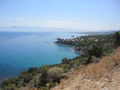 North coast of Cyprus, near Latsi.