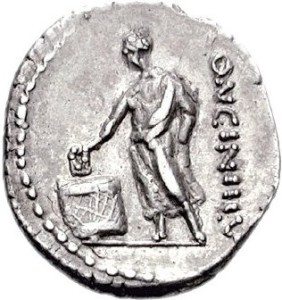 A Roman citizen voting (source: Classical Numismatic Group, Inc. http://www.cngcoins.com, CC BY-SA 3.0 license).
