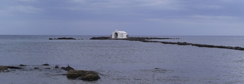 Chapel in the sea, Georgioupoli.